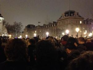 Place de la République,7 janvier 2015